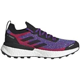 adidas TERREX Two Ultra Parley Trail Running Shoes Women, violet/zwart